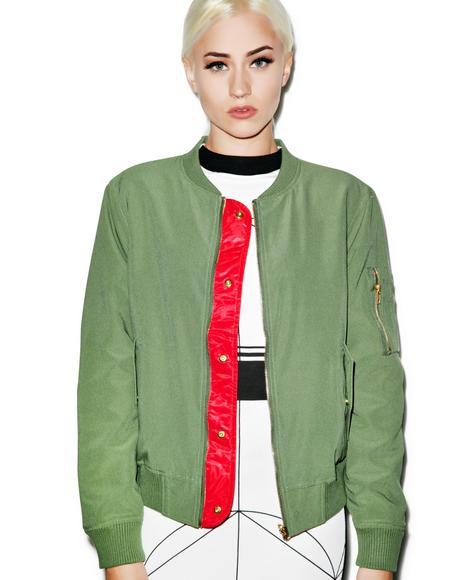 Irene-Amelia MA-1 Jacket