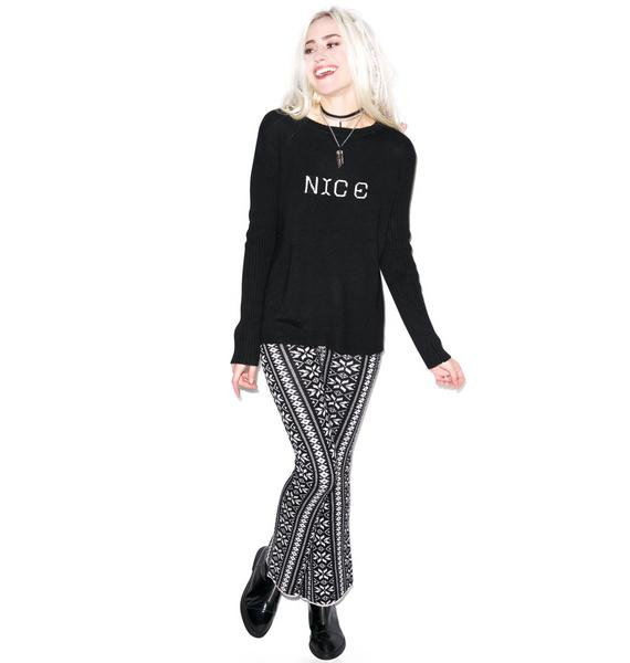 For Love & Lemons Little Miss Nice Sweater