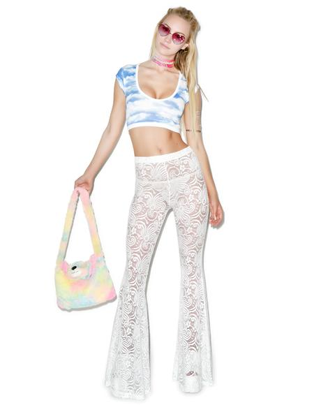 Cyclone Lace Bell Bottoms
