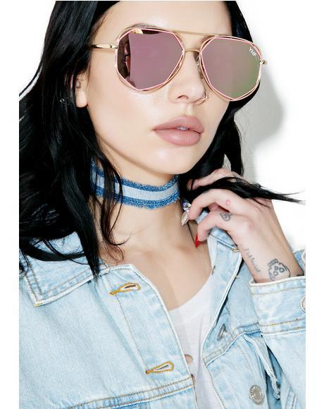 Maddie Pink Sunglasses
