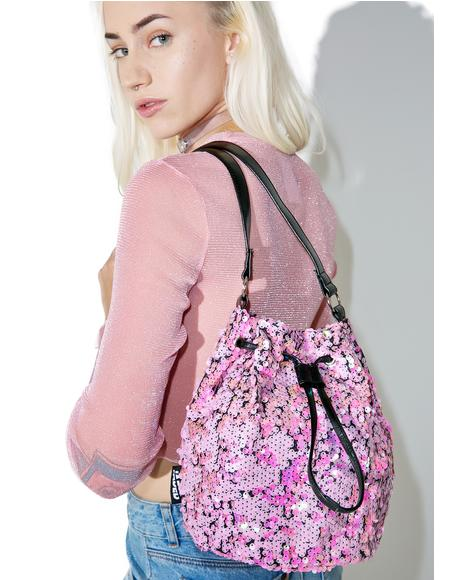 Mermaid Iridescent Sequin Bag