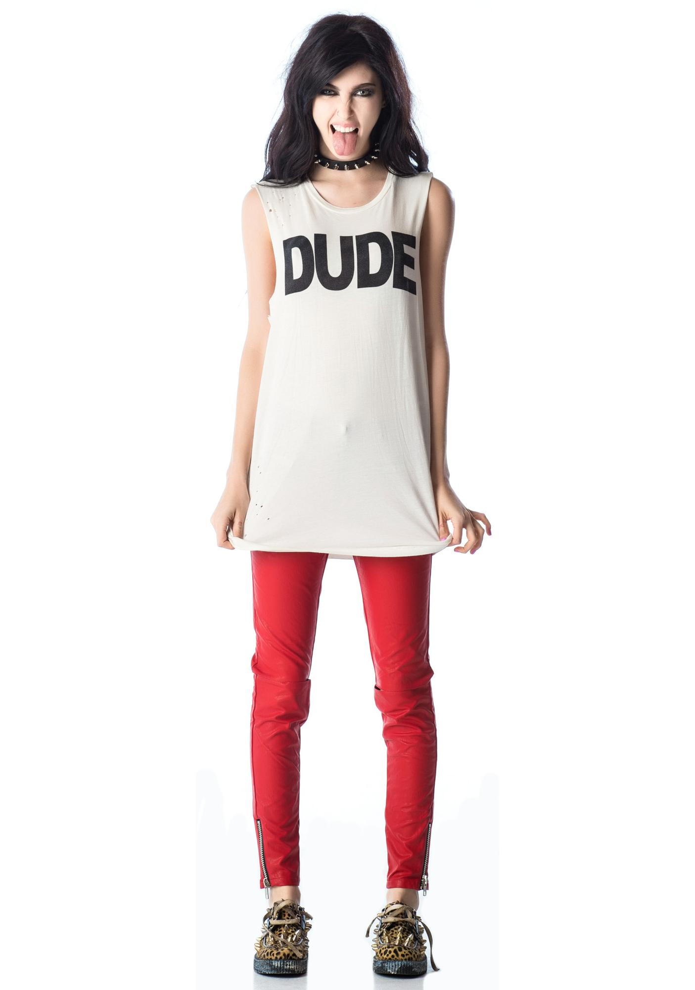 Lip Service Dude Sleeveless Tee