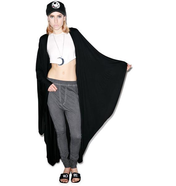 Lauren Moshi Eloise Long Draped Cardigan
