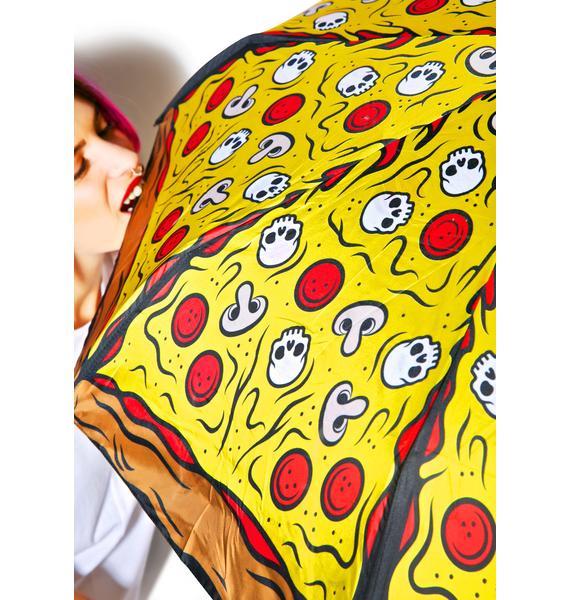 Sourpuss Clothing Pizza Umbrella