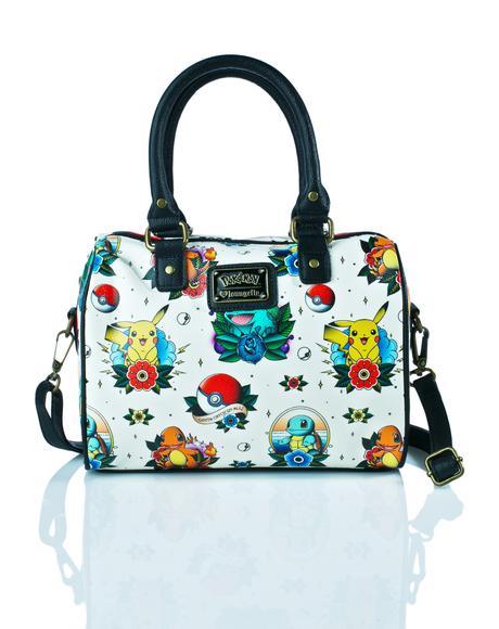 X Pokémon Tattoo Flash Duffle Bag