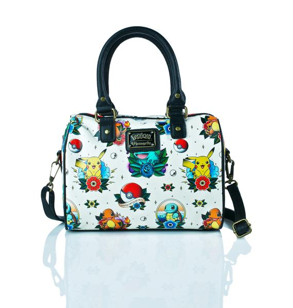 Loungefly X Pokémon Tattoo Flash Duffle Bag