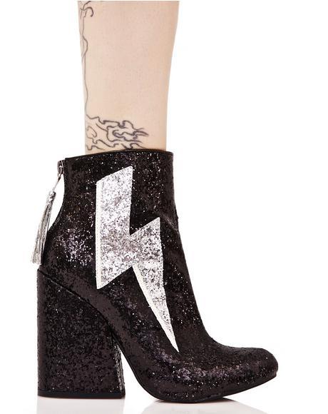 Ziggy Sparkle Lightning Boots