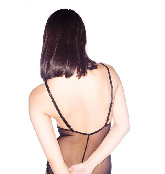 One Teaspoon Defender Mesh  Bodysuit