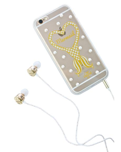 Gold Shell Earbuds