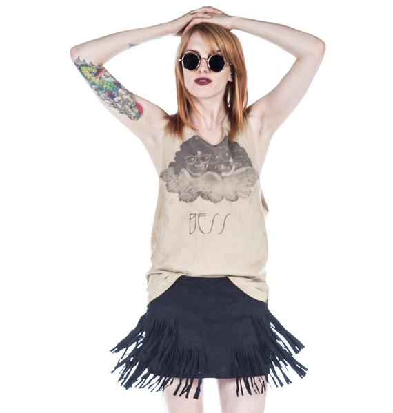 One Teaspoon New Day Tassel Skirt