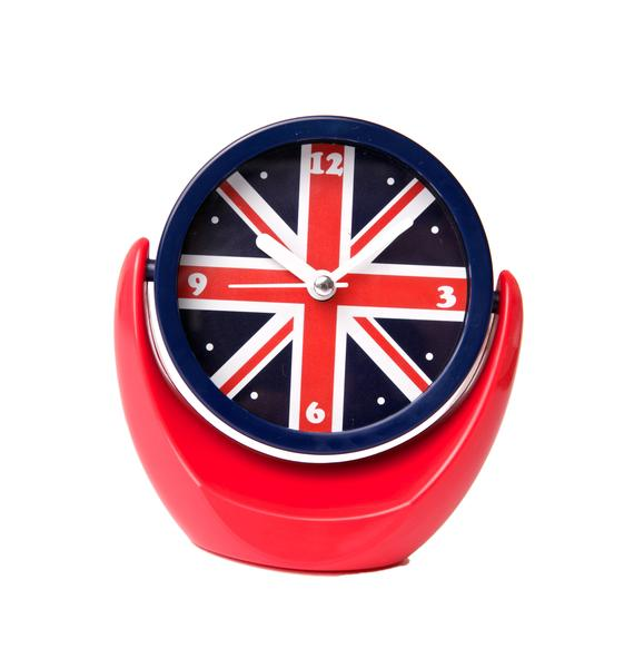 Tea Time Flip Mirror Clock