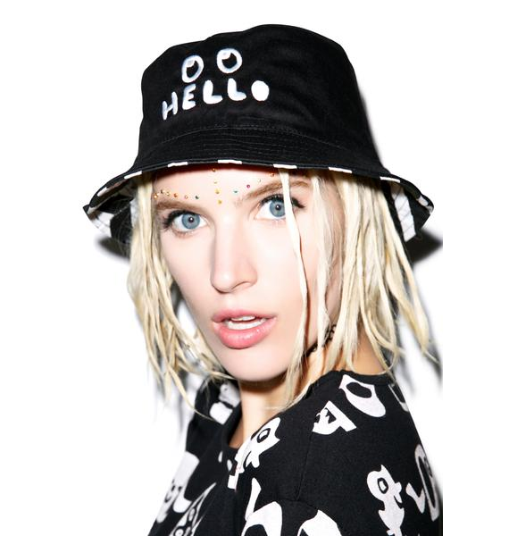 Lazy Oaf Hello Bucket Hat