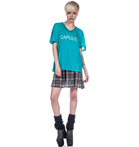 Wildfox Couture Capulet Oversized V-Neck Tee