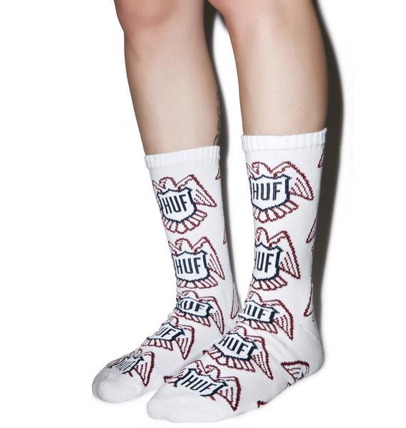 HUF Thunderbird Crew Socks