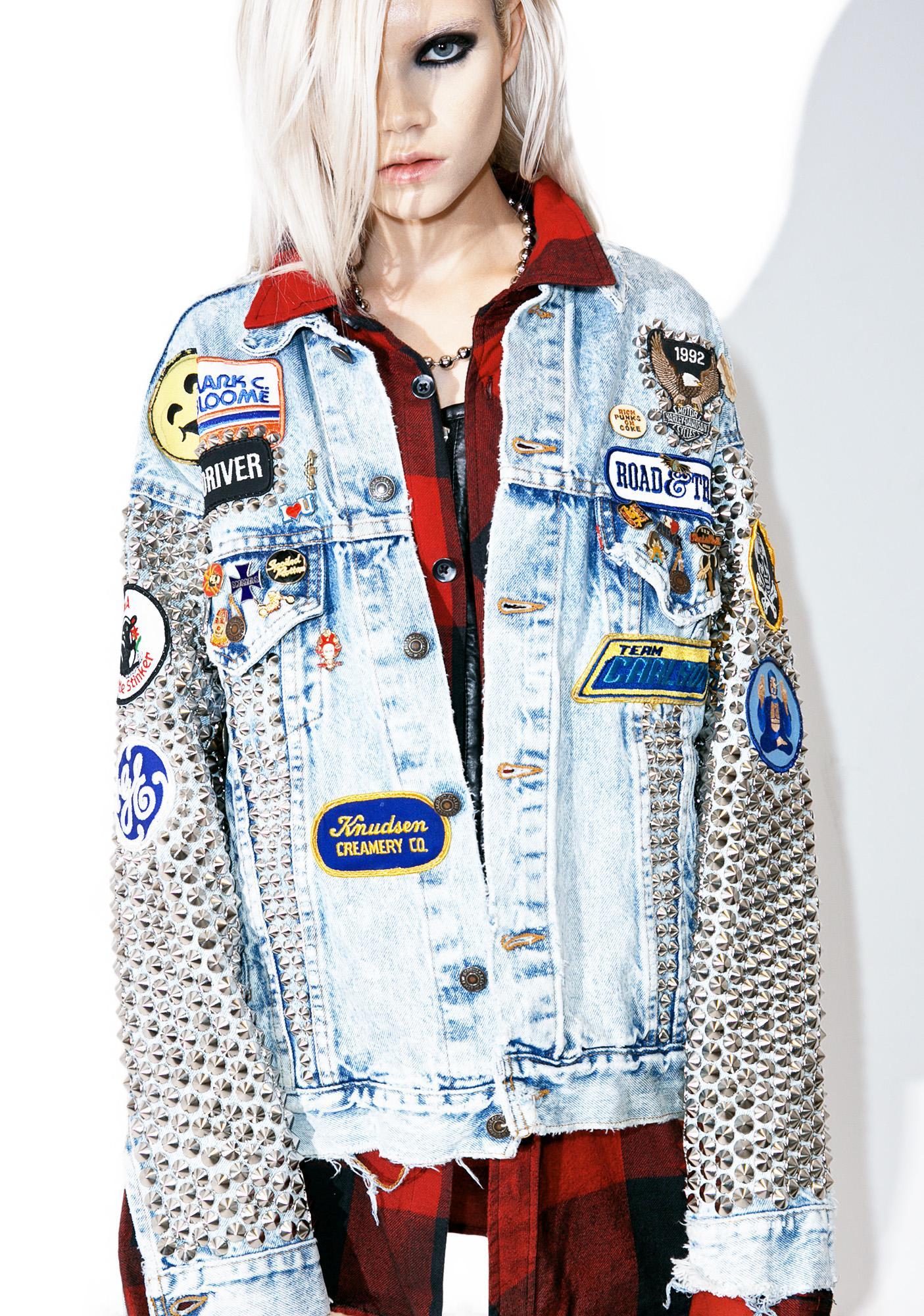 Hazmat Design Vintage Deadstock Live Free Or Die Jacket