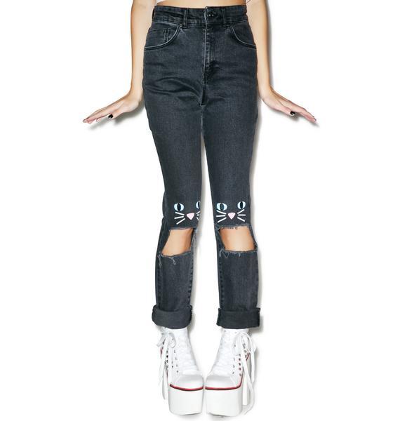 Lazy Oaf Kitty Kat Jeans
