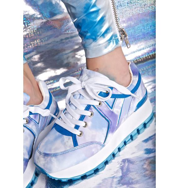 Y.R.U. Tune Tie Dye Sneakers