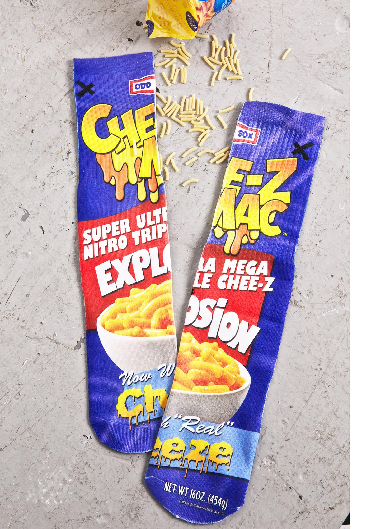 Odd Sox Mac N Cheese Socks