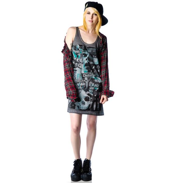 Disturbia Disturbed Youth Tank Dress