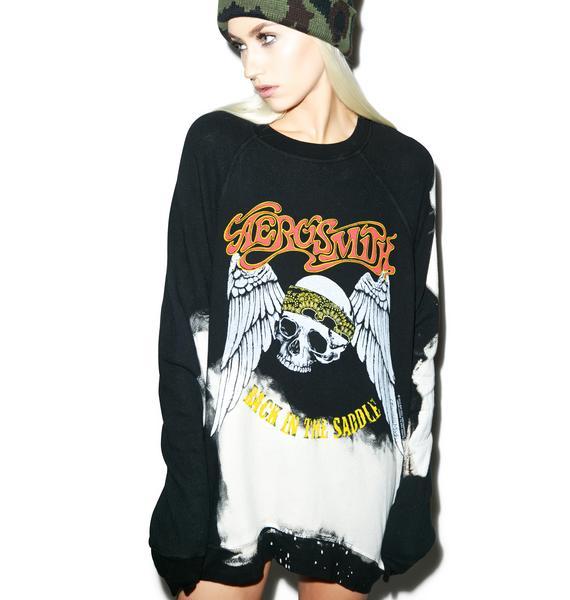Lauren Moshi Aerosmith Pullover Sweatshirt
