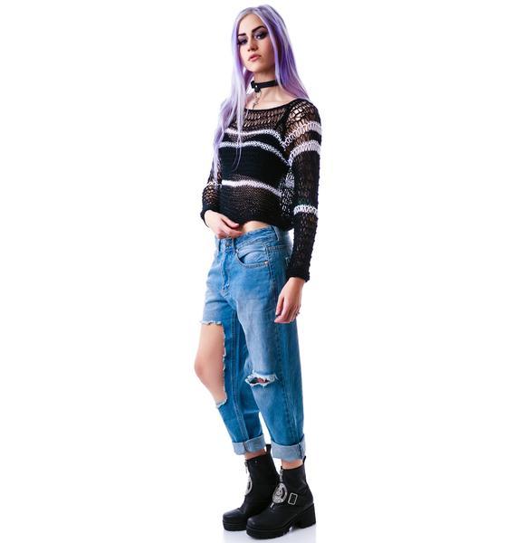 UNIF Circuit Sweater