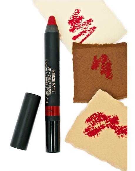 Royal Matte Lip + Cheek Pencil