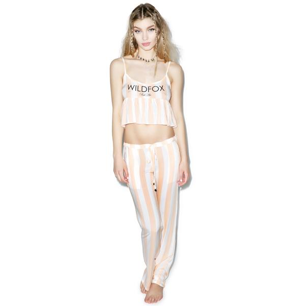 Wildfox Couture Hotel Stripe Costa Cami