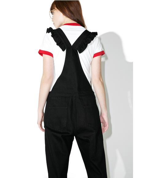Heart Pocket Dungarees