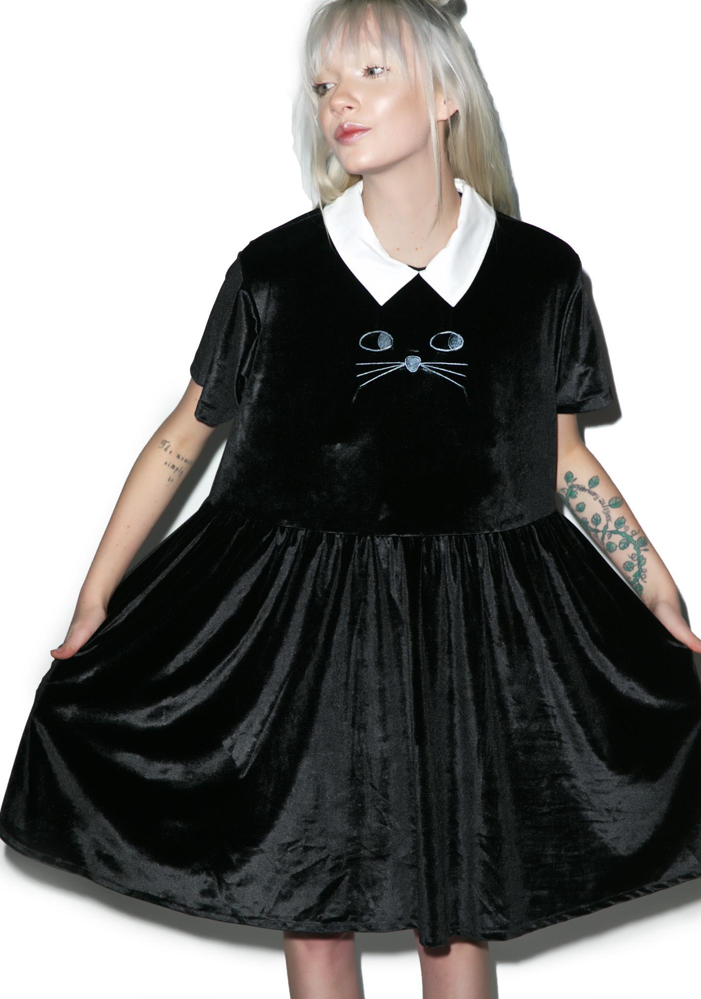 Lazy Oaf Cat Collar Dress