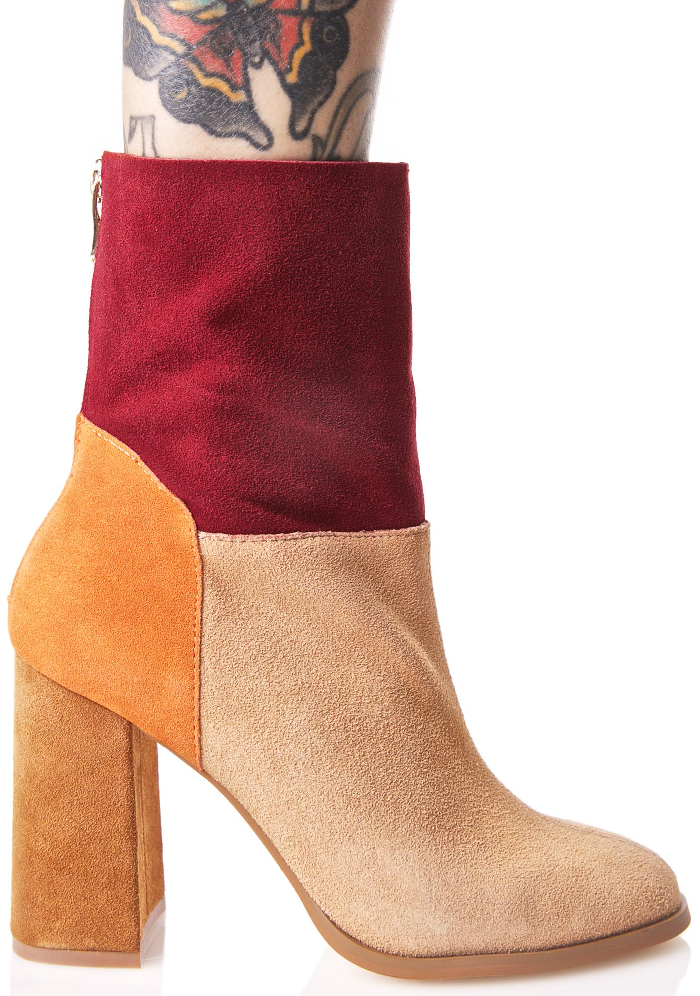 Chinese Laundry Rumba Suede Boots