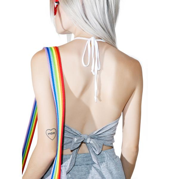 Camp Collection X Dolls Kill Little Rainbow Bralette