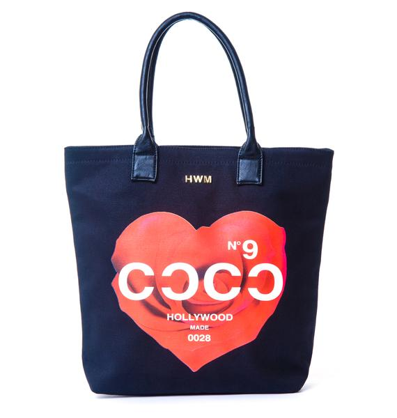 Hollywood Made UC CoCo Rose Tote Bag