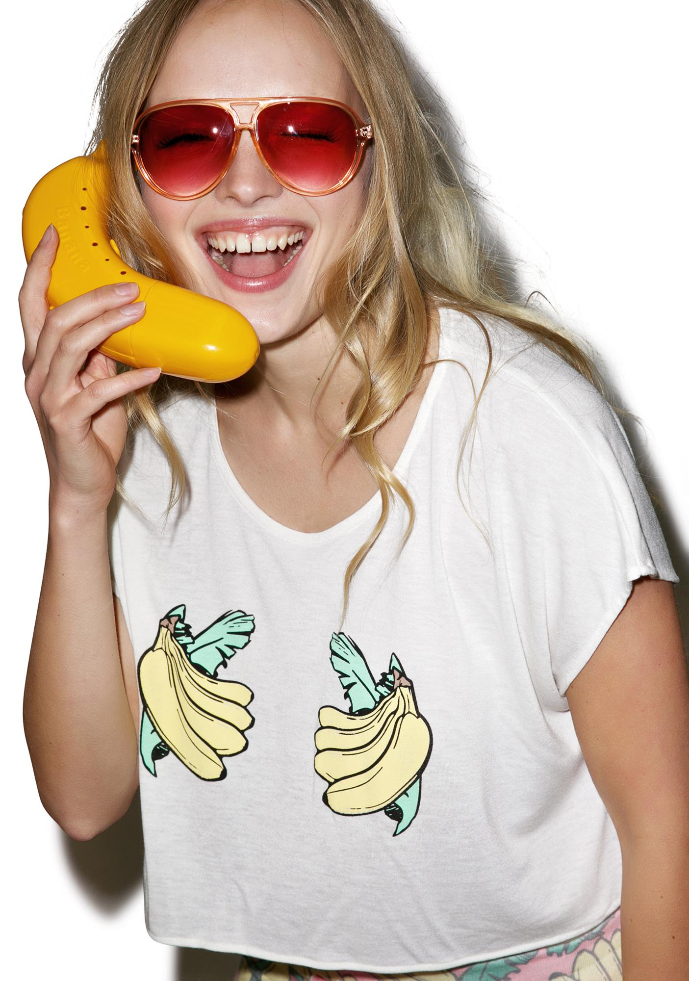 Wildfox Couture Handful Boxy Tee