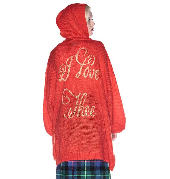 Wildfox Couture I Love Thee Hooded Manhattan