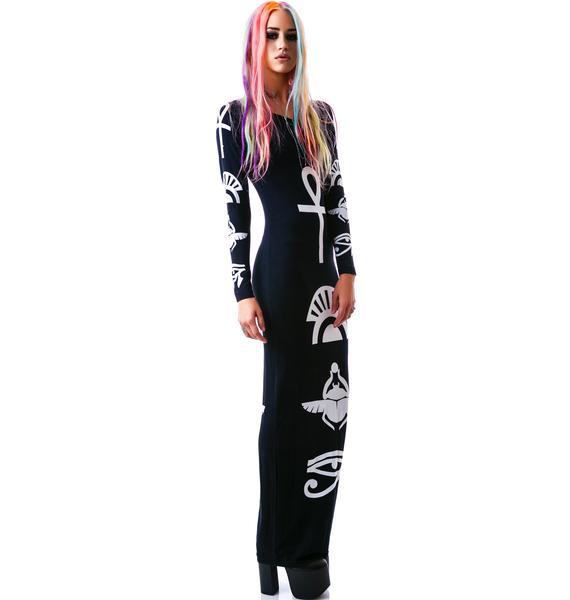 Killstar The Life Maxi Dress