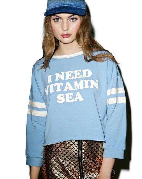 Vitamin Sea Sweatshirt