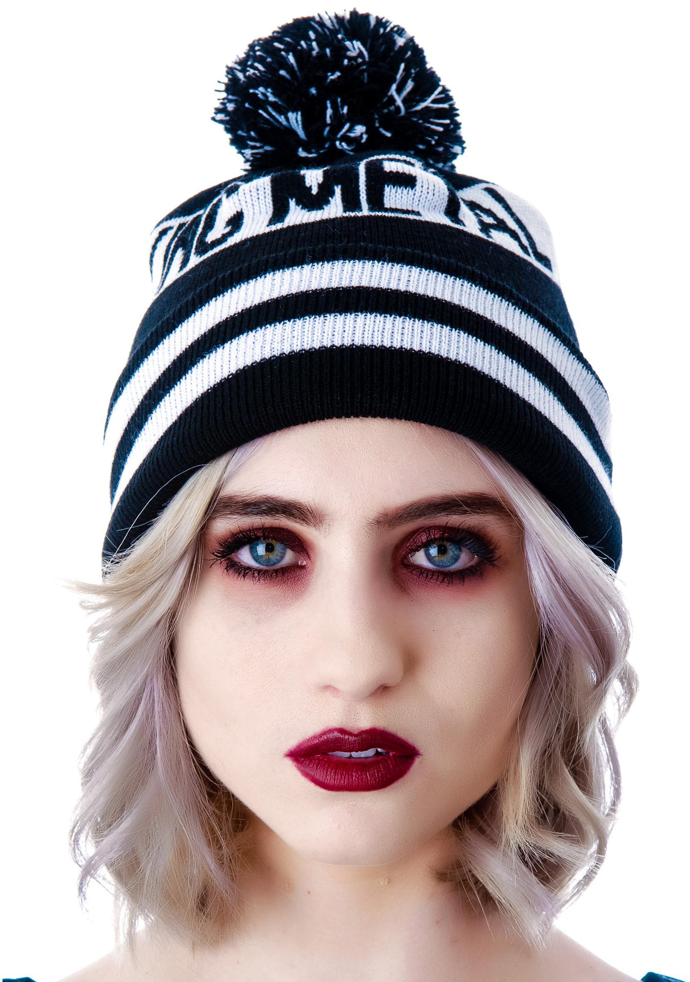 Heavy Fucking Metal Bobble Beanie