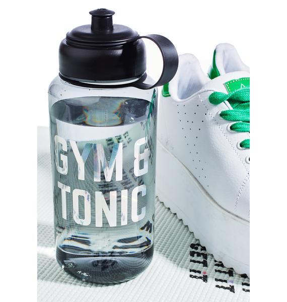 Gym & Tonic Water Bottle