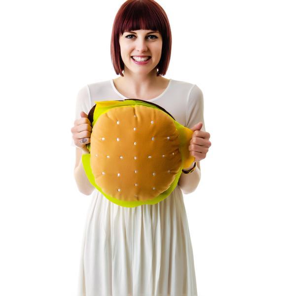 I Eatz Cheezeburger Plush Pillow