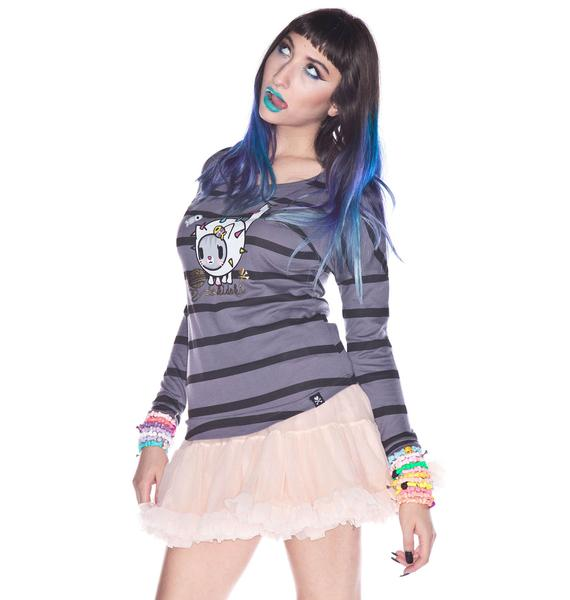 Tokidoki Gold Threads Storm Long Sleeve Tee