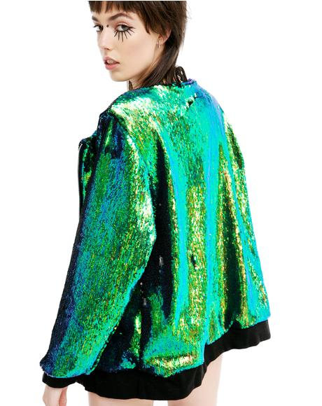 Mermaid Bomber Jacket