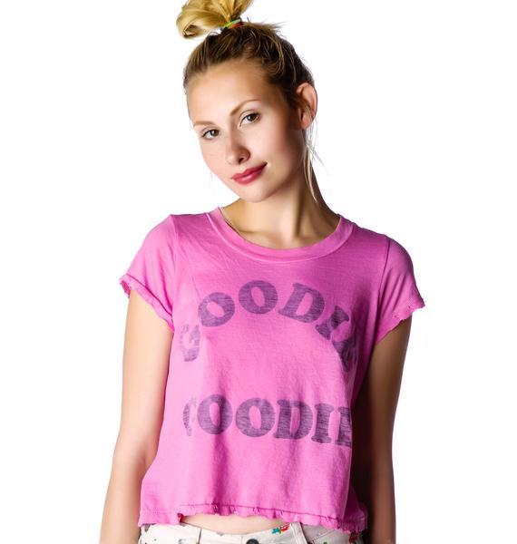 Rebel Yell Goodie Goodie Classics Crop Top