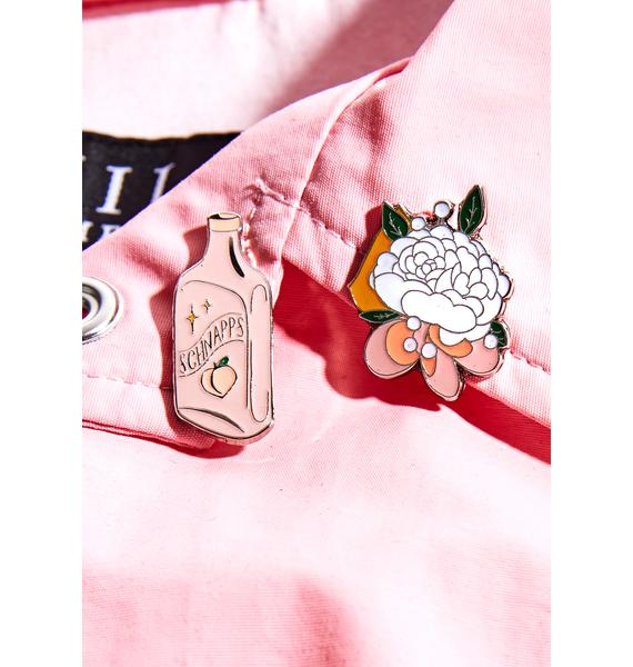 Rosehound Apparel Prom Nite Enamel Pin Set