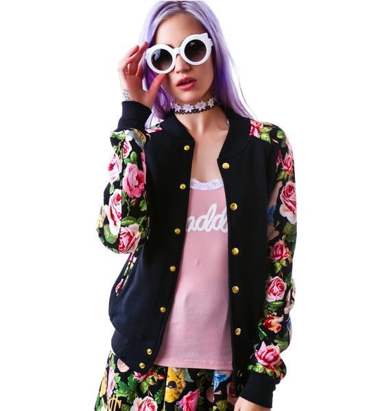 Joyrich Angelic Rich Floral Athletic Jacket