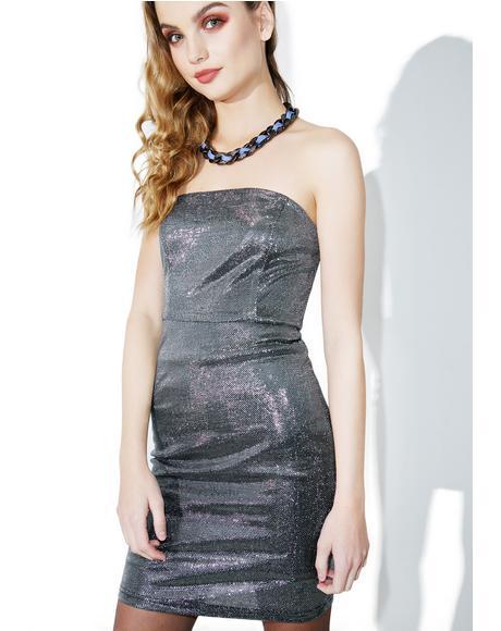 Shine A Light Mini Dress