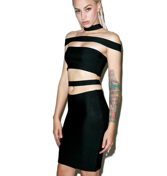 Censored Tales Bandage Skirt Set