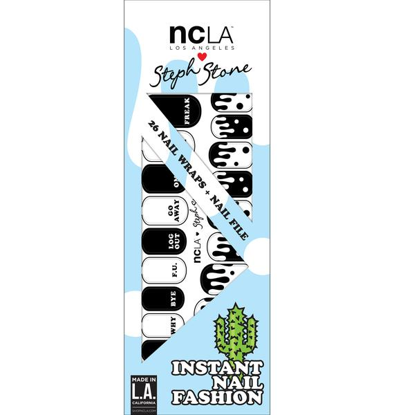 NCLA Acid Drop Nail Wraps