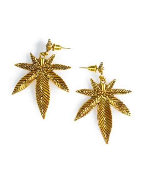 Top Shelf Leaf Earrings