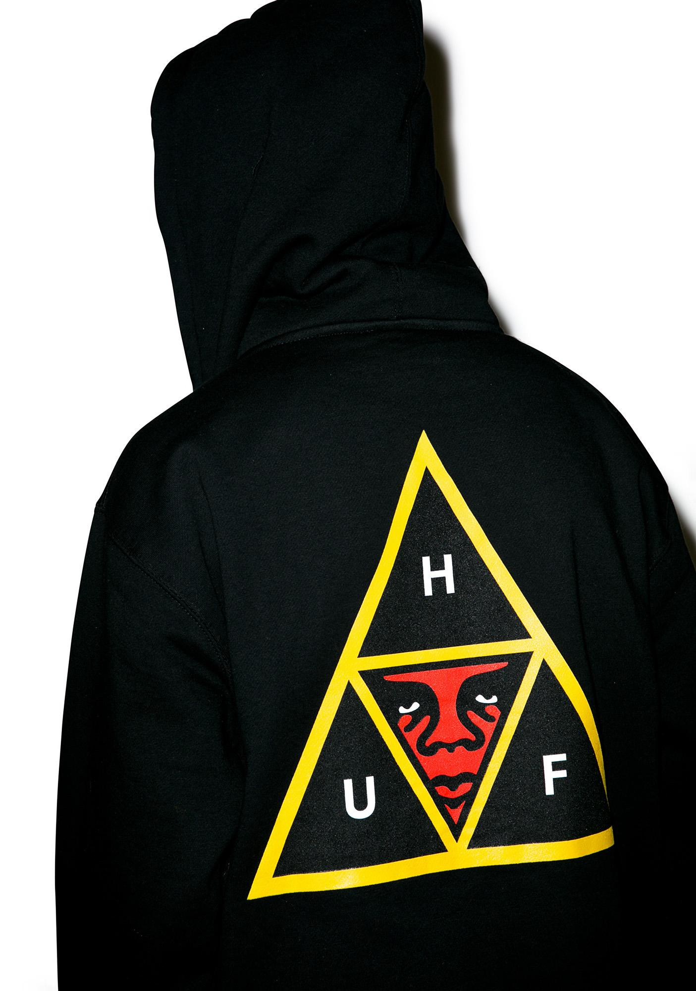 HUF HUF X Obey Icon Zip Hoodie