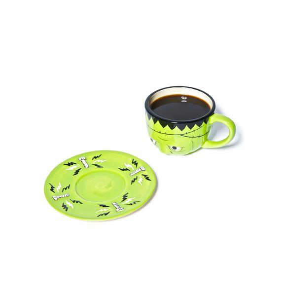 Sourpuss Clothing Monster Tea Set